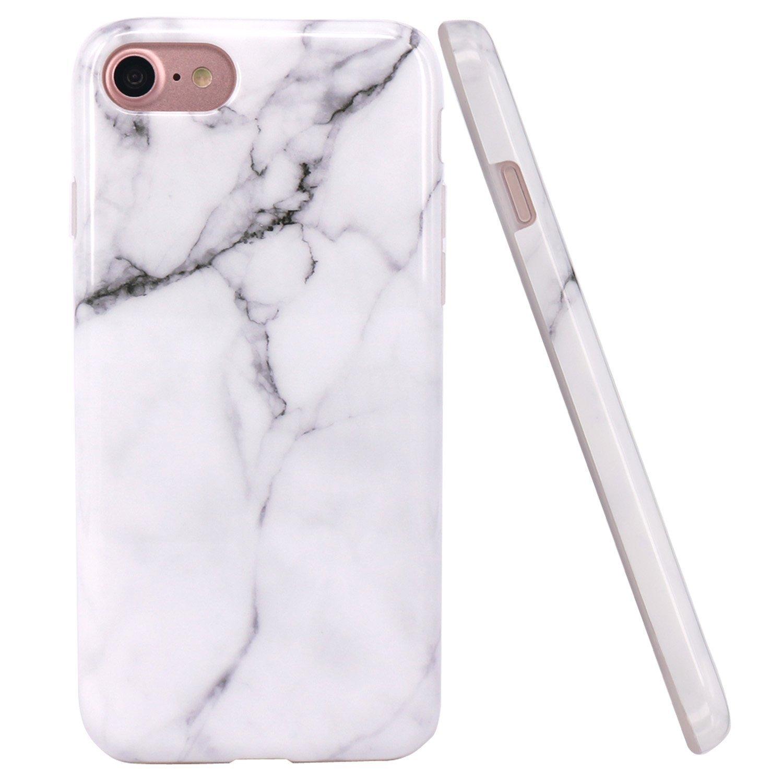 Iphone 8 Amp Iphone 7 White Marble Designed Case Phone