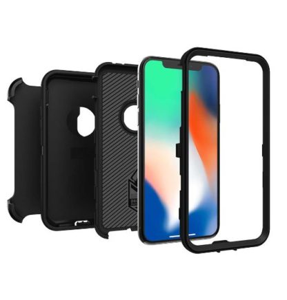 iphone x black defender