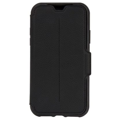 OtterBox Strada Series Folio Leather Case for iPhone X Shadow Black 20102017 01 p