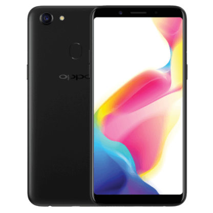 oppo a73 black front